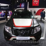 Nissan Terrano Special Edition front at 2016 Auto Expo