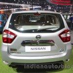 Nissan Terrano T20 Edition rear at 2016 Auto Expo