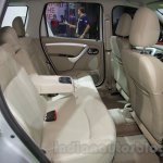 Nissan Terrano T20 Edition rear seat at 2016 Auto Expo
