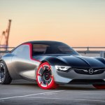 Opel GT Concept front three quarters