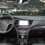 Opel Mokka X dashboard at the 2016 Geneva Motor Show Live