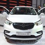 Opel Mokka X front at the 2016 Geneva Motor Show Live