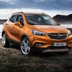 Opel Mokka X front three quarters