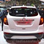 Opel Mokka X rear at the 2016 Geneva Motor Show Live