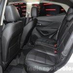 Opel Mokka X rear cabin at the 2016 Geneva Motor Show Live