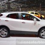 Opel Mokka X side at the 2016 Geneva Motor Show Live