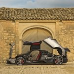 Pagani Huayra BC press shot
