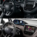 Peugeot 2008 interior old vs. new