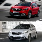 Peugeot 2008 old vs. new