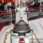 Peugeot Django pillion grab handles at Auto Expo 2016