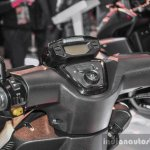 Peugeot Speedfight 4 handlebar RAM mount at Auto Expo 2016