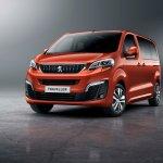 Peugeot Traveller front three quarters