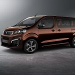 Peugeot Traveller i-LAB concept front three quarters