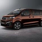 Peugeot Traveller i-LAB concept front three quarters