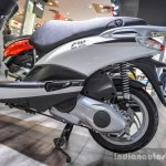 Piaggio Fly 125 engine at Auto Expo 2016