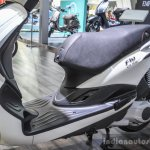 Piaggio Fly 125 floor board at Auto Expo 2016
