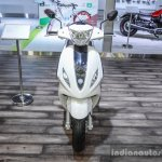 Piaggio Fly 125 front at Auto Expo 2016