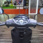 Piaggio Fly 125 handlebar at Auto Expo 2016