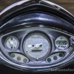Piaggio Fly 125 speedometer at Auto Expo 2016