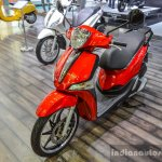 Piaggio Liberty IGET 125 ABS at Auto Expo 2016
