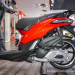 Piaggio Liberty IGET 125 ABS engine at Auto Expo 2016