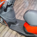 Piaggio Liberty IGET 125 ABS floor board at Auto Expo 2016