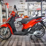Piaggio Liberty IGET 125 ABS red at Auto Expo 2016
