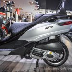 Piaggio MP3 300 Lt Sport ABS engine at Auto Expo 2016