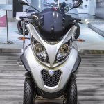 Piaggio MP3 300 Lt Sport ABS front at Auto Expo 2016
