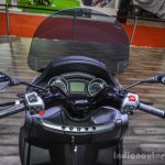 Piaggio MP3 300 Lt Sport ABS handlebar at Auto Expo 2016