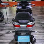 Piaggio MP3 300 Lt Sport ABS rear at Auto Expo 2016