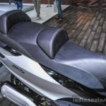 Piaggio MP3 300 Lt Sport ABS seat at Auto Expo 2016