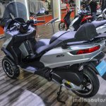 Piaggio MP3 300 Lt Sport ABS silver at Auto Expo 2016
