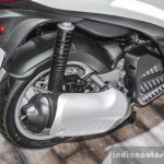 Piaggio Medley 125 ABS exhaust at Auto Expo 2016