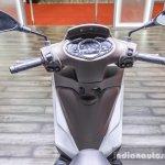 Piaggio Medley 125 ABS handlebar at Auto Expo 2016