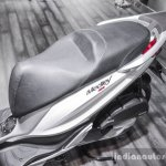 Piaggio Medley 125 ABS seat at Auto Expo 2016