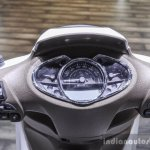 Piaggio Medley 125 ABS speedometer at Auto Expo 2016