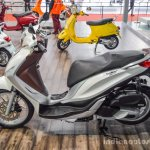 Piaggio Medley 125 ABS white at Auto Expo 2016
