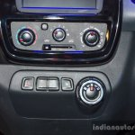 Renault Kwid 1.0 AMT Easy-R gear shift control knob at the Auto Expo 2016