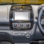 Renault Kwid 1.0 AMT centre console at the Auto Expo 2016
