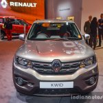Renault Kwid 1.0 AMT front at the Auto Expo 2016