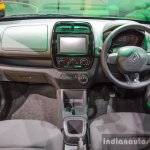 Renault Kwid 1.0 AMT interior at the Auto Expo 2016