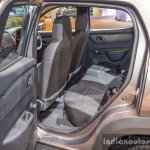 Renault Kwid 1.0 AMT rear legroom at the Auto Expo 2016