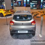 Renault Kwid 1.0 AMT rear top at the Auto Expo 2016