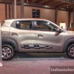 Renault Kwid 1.0 AMT right side at the Auto Expo 2016