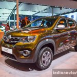 Renault Kwid 1.0 front quarter at the Auto Expo 2016