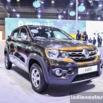 Renault Kwid 1.0 grille at the Auto Expo 2016