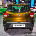 Renault Kwid 1.0 rear at the Auto Expo 2016