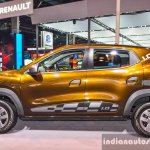 Renault Kwid 1.0 side at the Auto Expo 2016