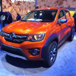 Renault Kwid Climber front three quarters left at Auto Expo 2016
